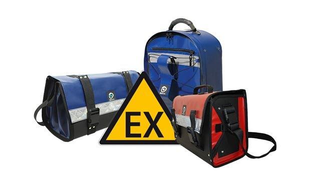 Des sacs et sacoches Outils Océans admis en zone ATEX