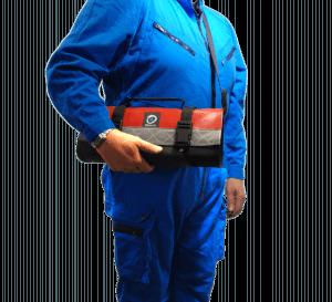 CO1 Rouge portage bandoulière
