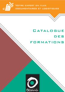 Catalogue formations, flux documentaires, logistiques, environnement de travail,