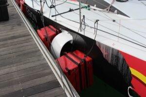 Pare battage de foil pour bateau de classe Figaro