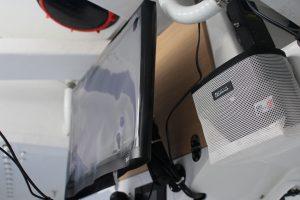 Équipets et protection d'écran, équipements pour bateau de la classe Figaro