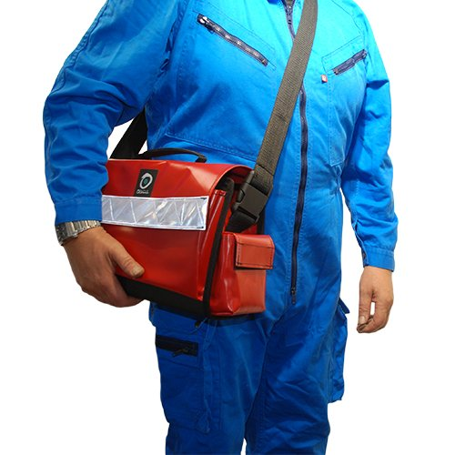 Sac CO3 Rouge portage en bandoulière