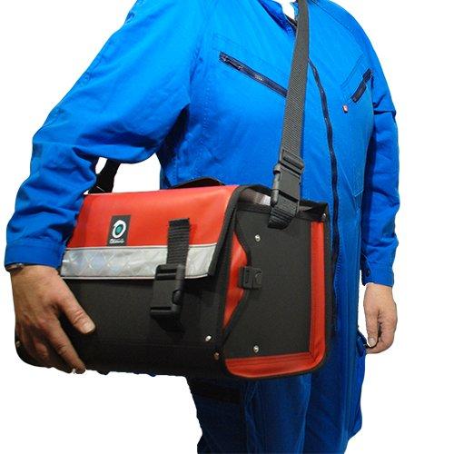 Sac à outils CO5 Rouge portage en bandoulière