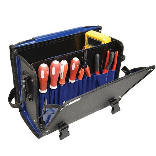 Sac à Outils CO6 Marine ouvert avec outils