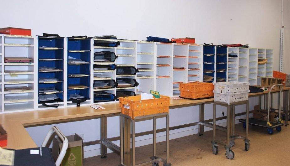 Outils Océans, réorganise le service courrier du CHU de Nantes