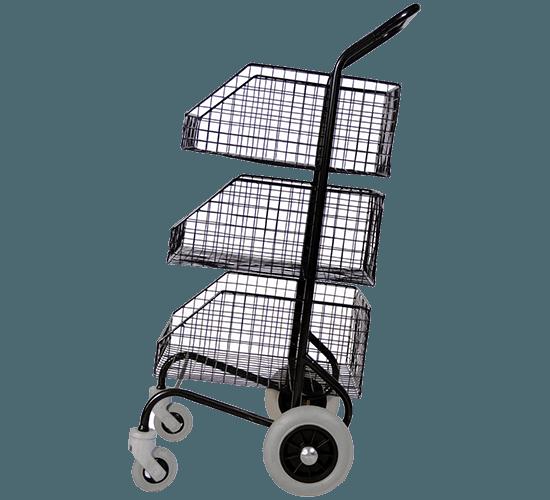 Chariot distribution avec 3 corbeilles - 3526/6333