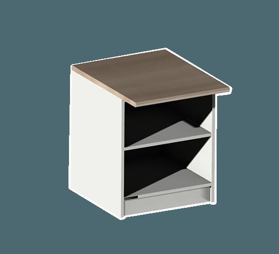 Support pour meuble de 10 cases