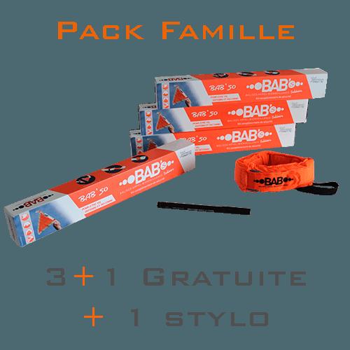 Pack Famille - Nouvel équipement de sécurité et de survie BAB