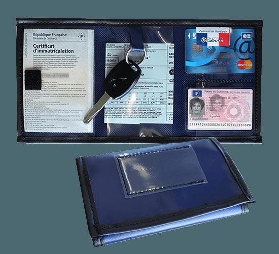 Pochette pour clé et papier véhicule - CP1015