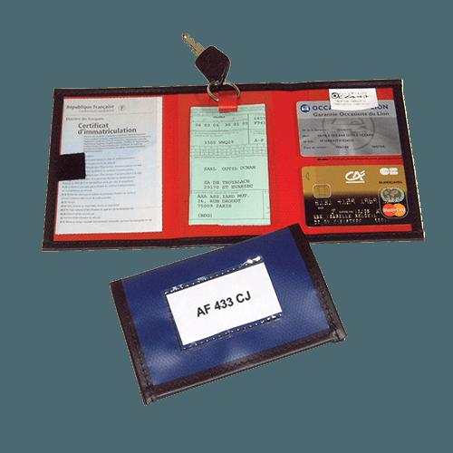 Pochette pour clés et papiers véhicule - CP1015