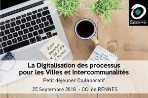 Digitalisation des processus pour les villes et intercommunalités