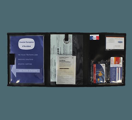 Pochette pour clés et papiers véhicule - CP1824