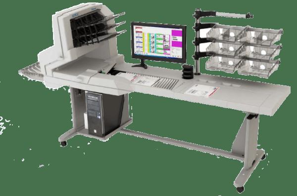 Station de dématérialisation Falcon, numérisation, scanner, courrier