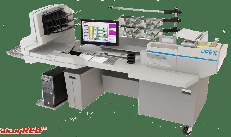 Station de dématérialisation Falcon RED, numérisation, scanner, courrier