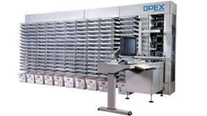 Machine de tri courrier automatisée, courrier, enveloppe, plis
