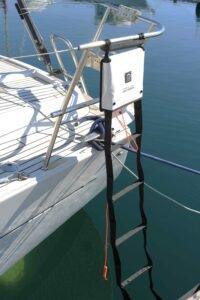 Échelle de secours Magic Reboard pour remonter de manière sécurisée sur votre bateau en cas d'accident.